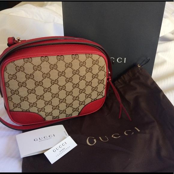 1f500cd32cb89c Gucci Bags | Bree Canvas Crossbody | Poshmark